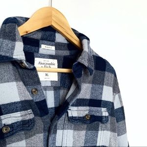 Men's Abercrombie Flannel